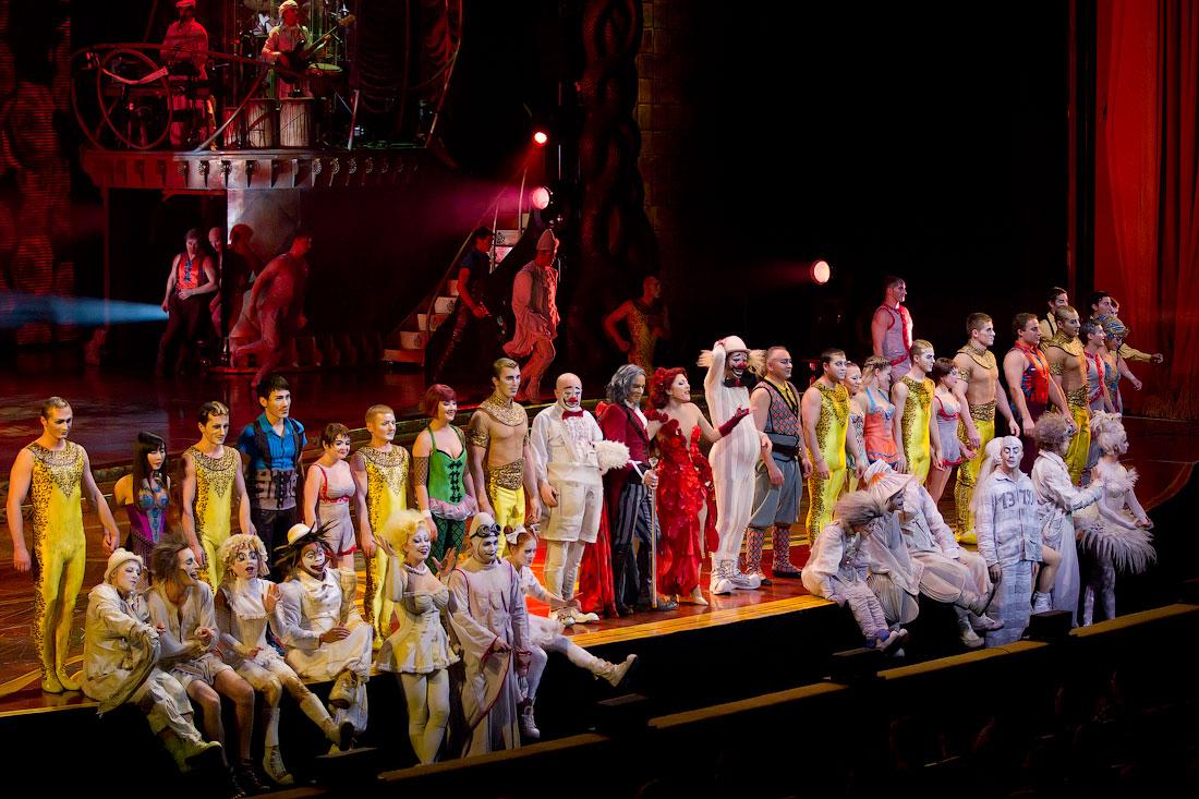 4315 Cirque du Soleil в Кремле