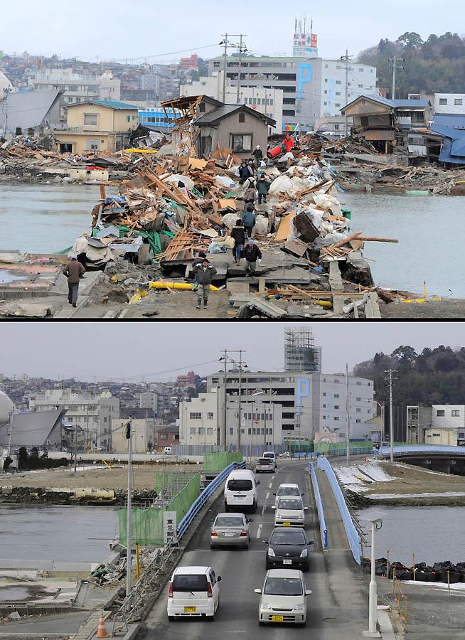 4317 Как Япония восстановилась после землетрясения и цунами
