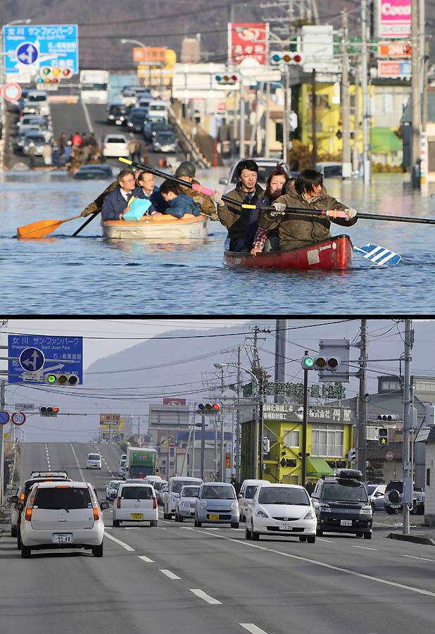 4711 Как Япония восстановилась после землетрясения и цунами