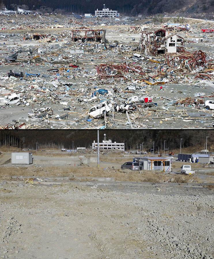 4911 Как Япония восстановилась после землетрясения и цунами