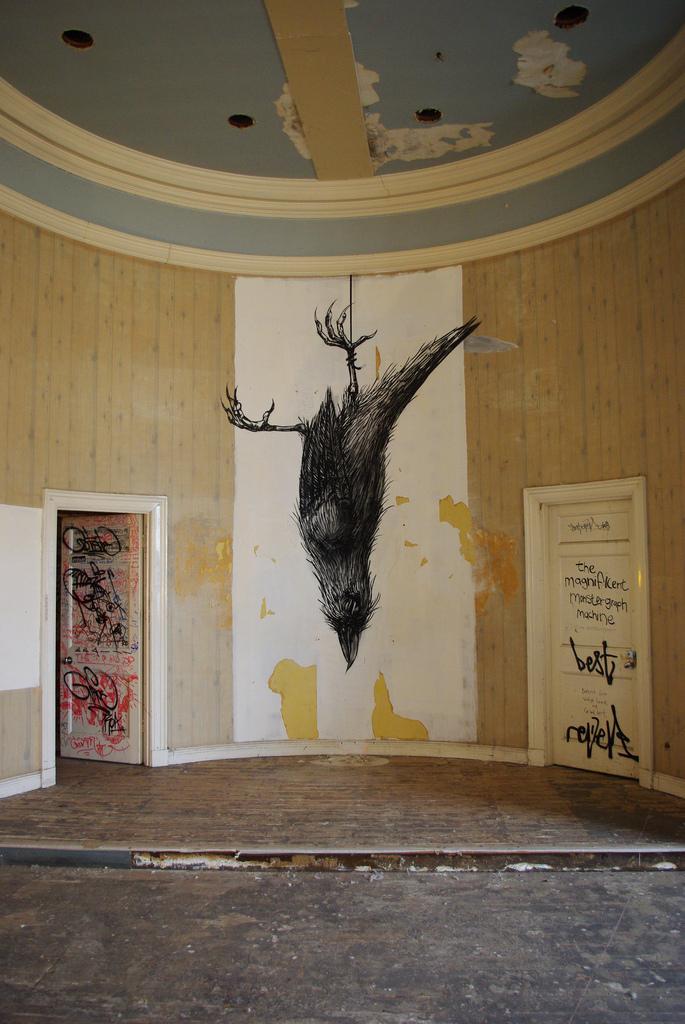 50100000 Животный стрит арт от бельгийского граффитчика ROA