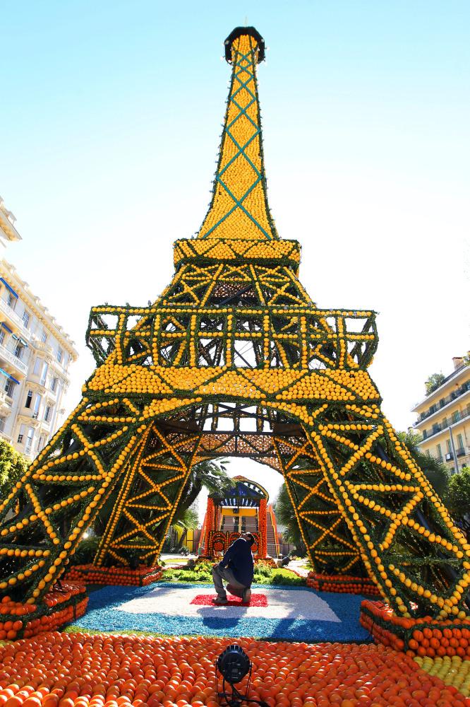 5148 Цитрон   лимонный фестиваль во Франции