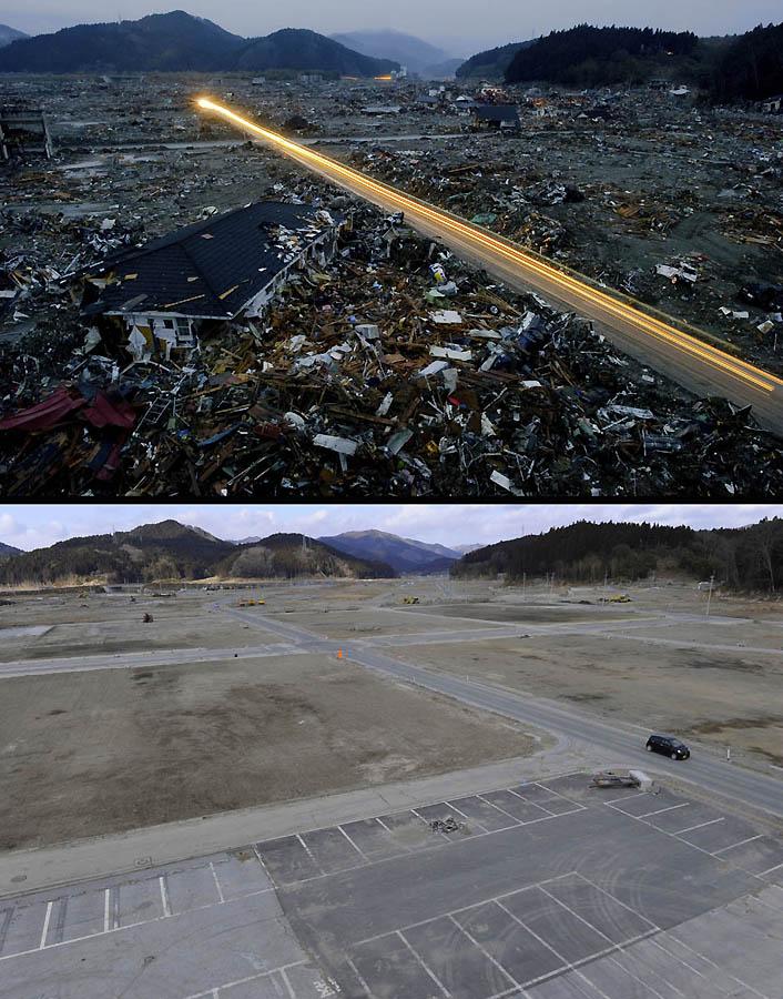 5151 Как Япония восстановилась после землетрясения и цунами