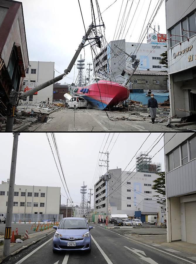 5152 Как Япония восстановилась после землетрясения и цунами