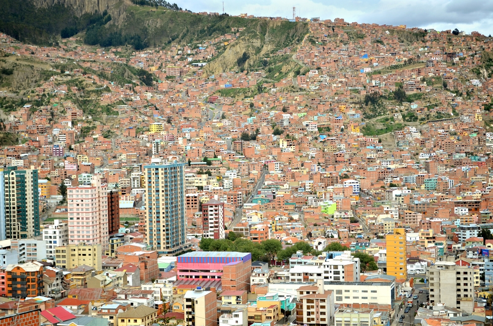 5158 Ла Пас   самая высокогорная столица мира с высоты