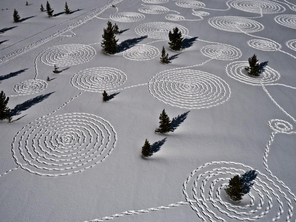 5185 990x742 Снежные картины с помощью снегоступов