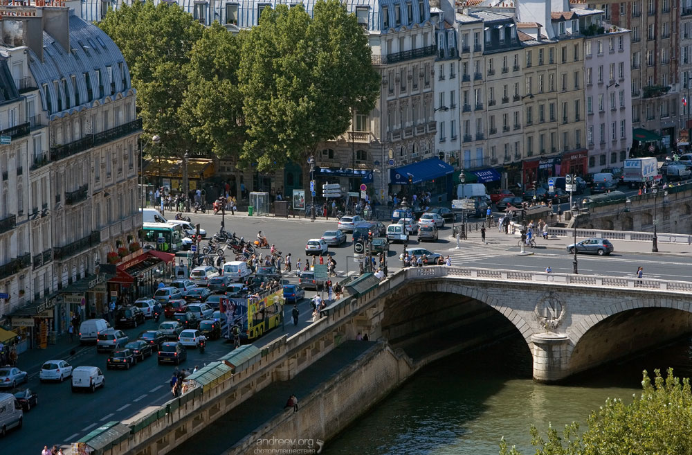 527 Париж: уличная жизнь