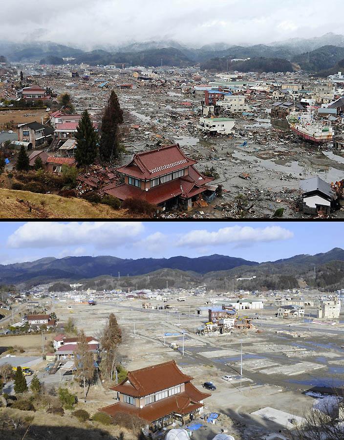5314 Как Япония восстановилась после землетрясения и цунами