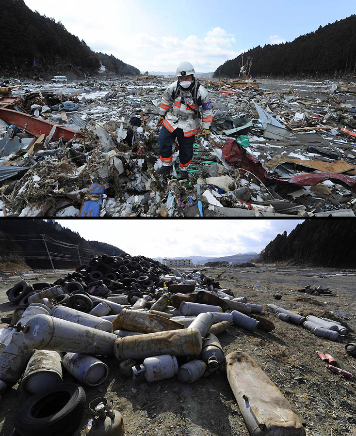 5512 Как Япония восстановилась после землетрясения и цунами