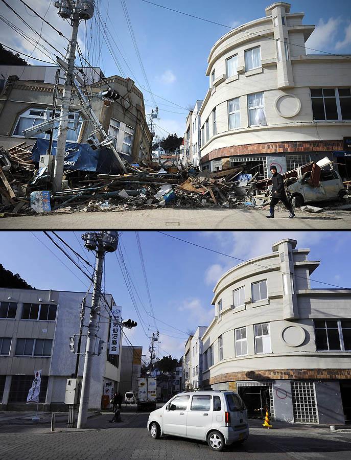5711 Как Япония восстановилась после землетрясения и цунами