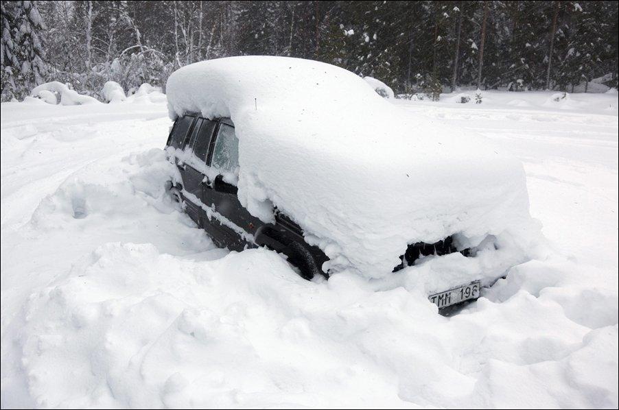 5s6b57vR Швед выжил после 2 месяцев, проведенных в заваленной снегом машине