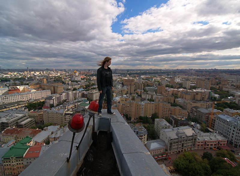 6125 Экстремальный городской альпинизм в России