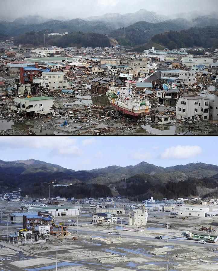 6131 Как Япония восстановилась после землетрясения и цунами