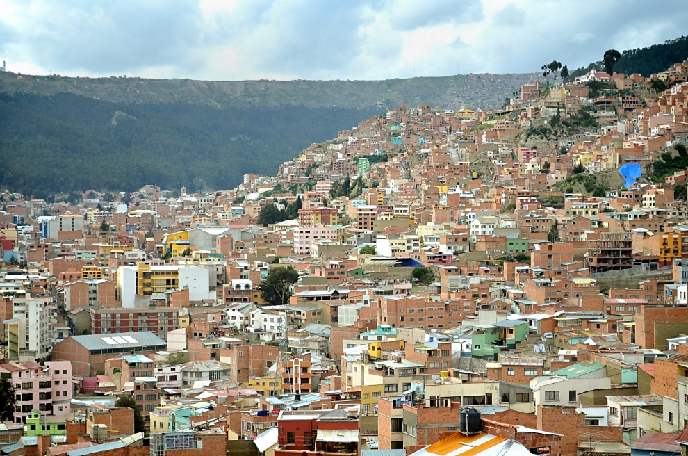 6136 Ла Пас   самая высокогорная столица мира с высоты