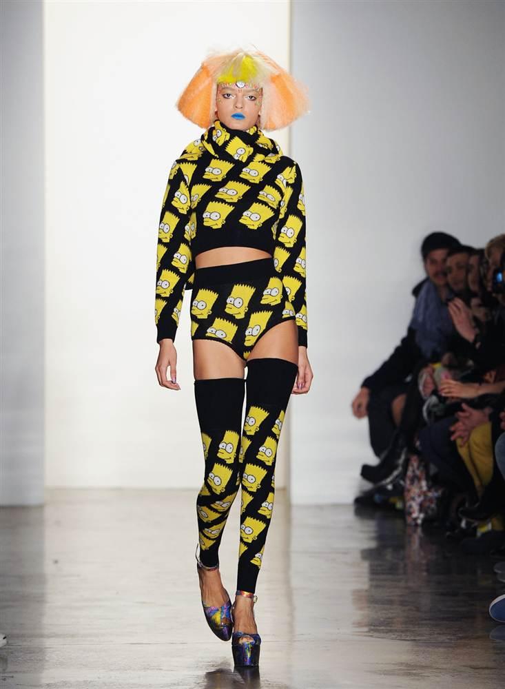 6137 Странные наряды на Нью йоркской неделе моды