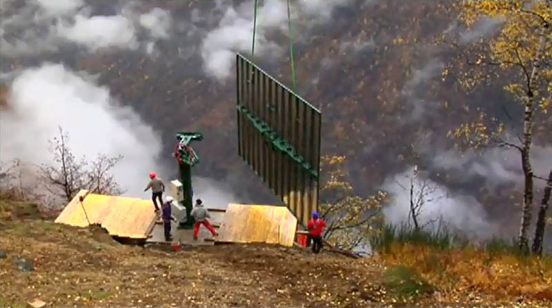 6159 Итальянская деревня строит гигантское зеркало, чтобы не оставаться без света 83 дня