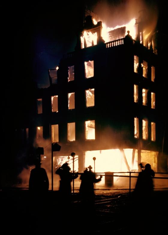 619 Цветные фото Лондона времен Второй мировой