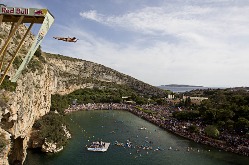 656 Лучшие фото с Red Bull Cliff Diving