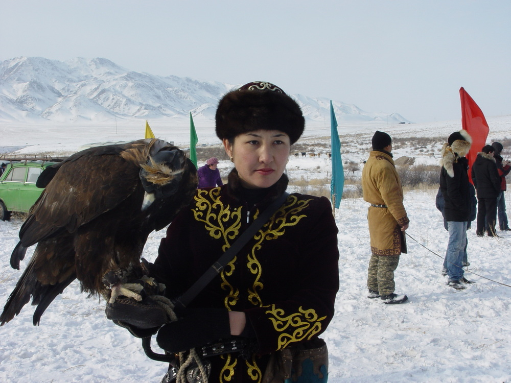 688 Фоторепортаж с соревнований по охоте с ловчими птицами