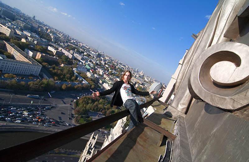 7116 Экстремальный городской альпинизм в России