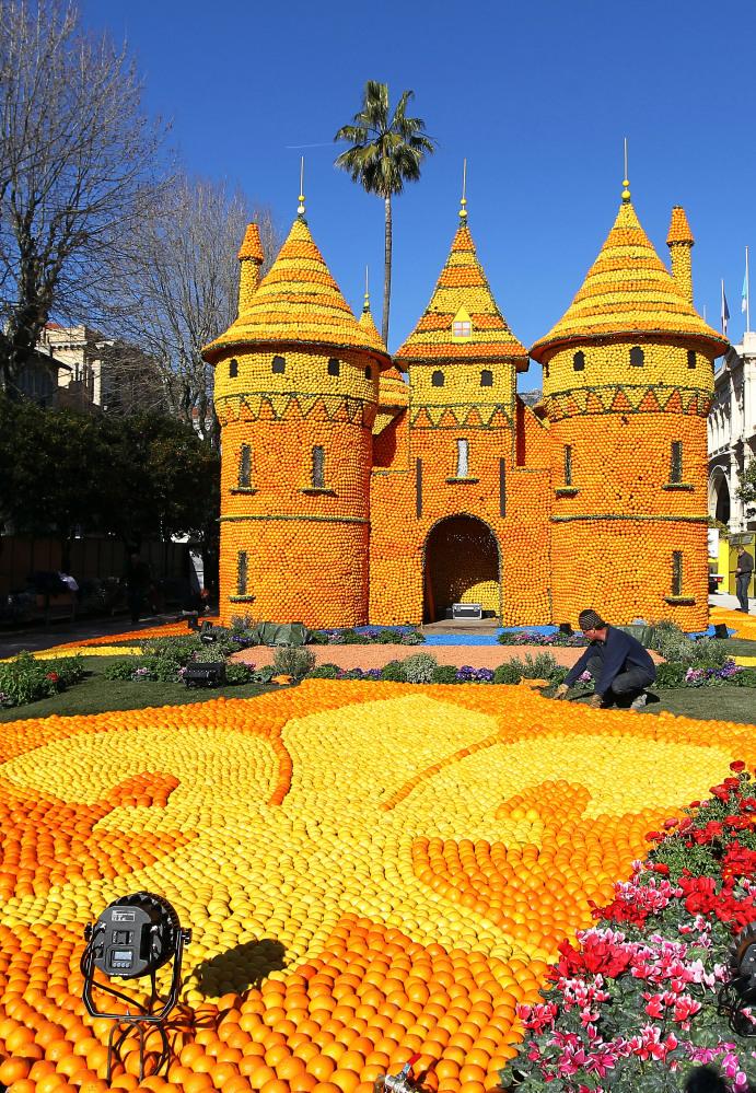 7120 Цитрон   лимонный фестиваль во Франции