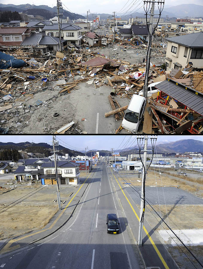 7122 Как Япония восстановилась после землетрясения и цунами