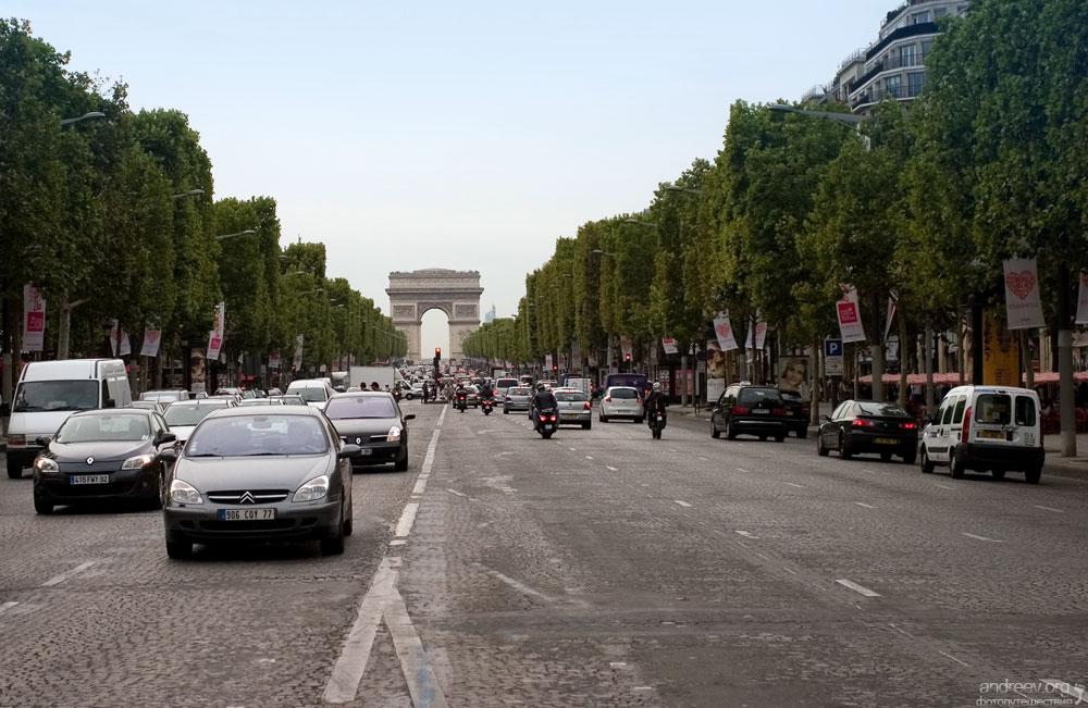 724 Париж: уличная жизнь