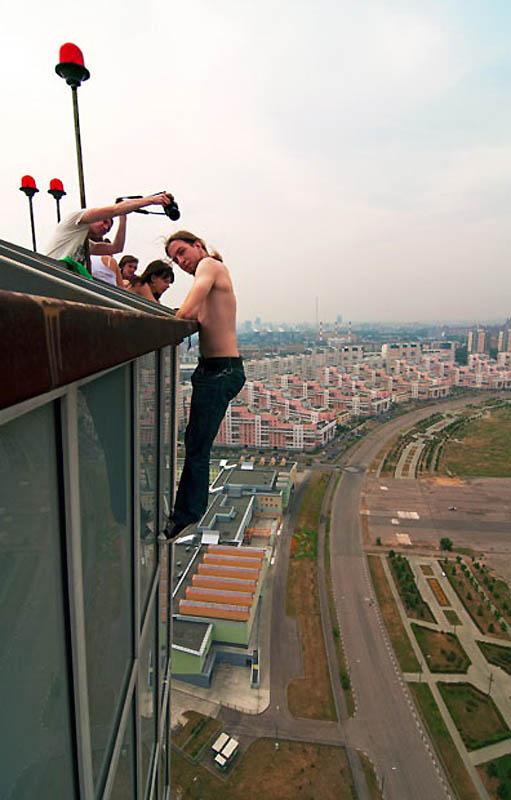 8110 Экстремальный городской альпинизм в России