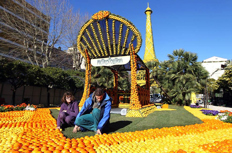 8114 Цитрон   лимонный фестиваль во Франции