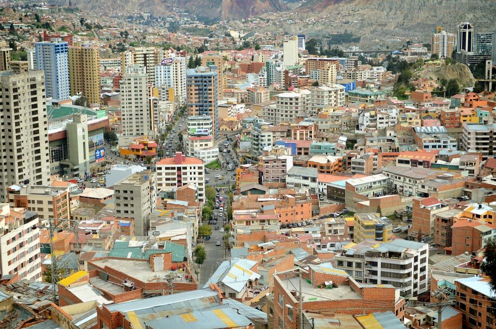 8120 Ла Пас   самая высокогорная столица мира с высоты