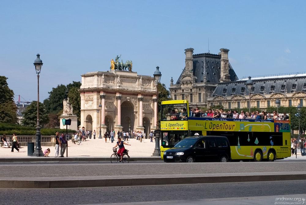 822 Париж: уличная жизнь