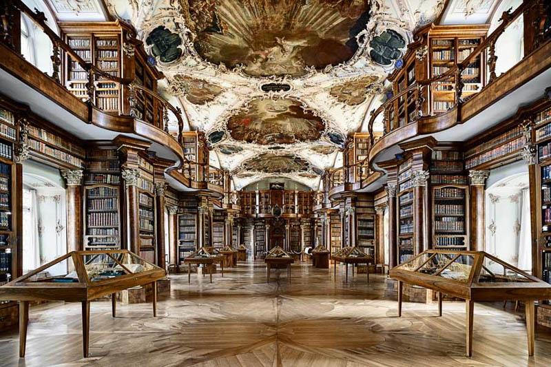 831 15 самых красивых библиотек мира