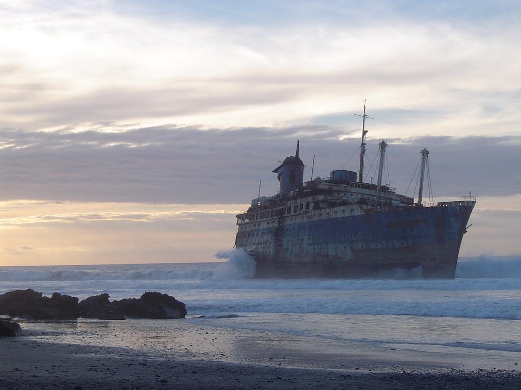 873 Живописные последствия кораблекрушений