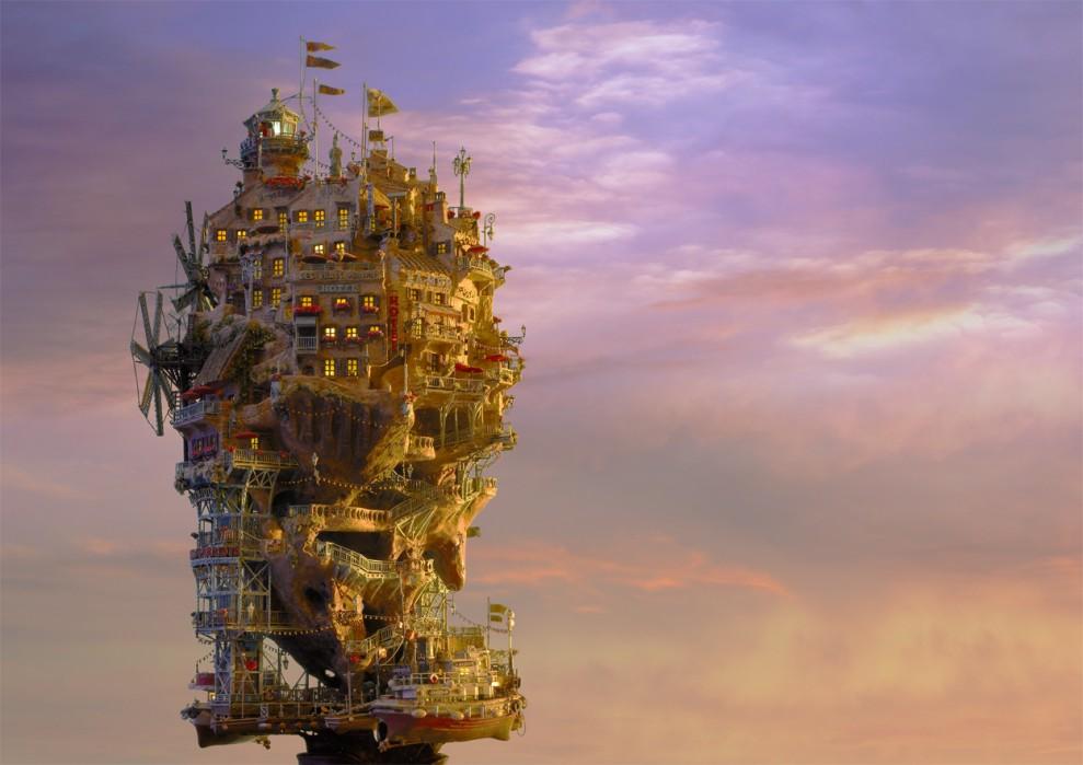 896 989x699 Города под колпаком   удивительные работы Таканори Аибы