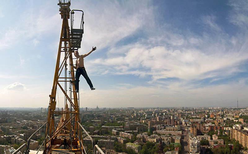 9110 Экстремальный городской альпинизм в России