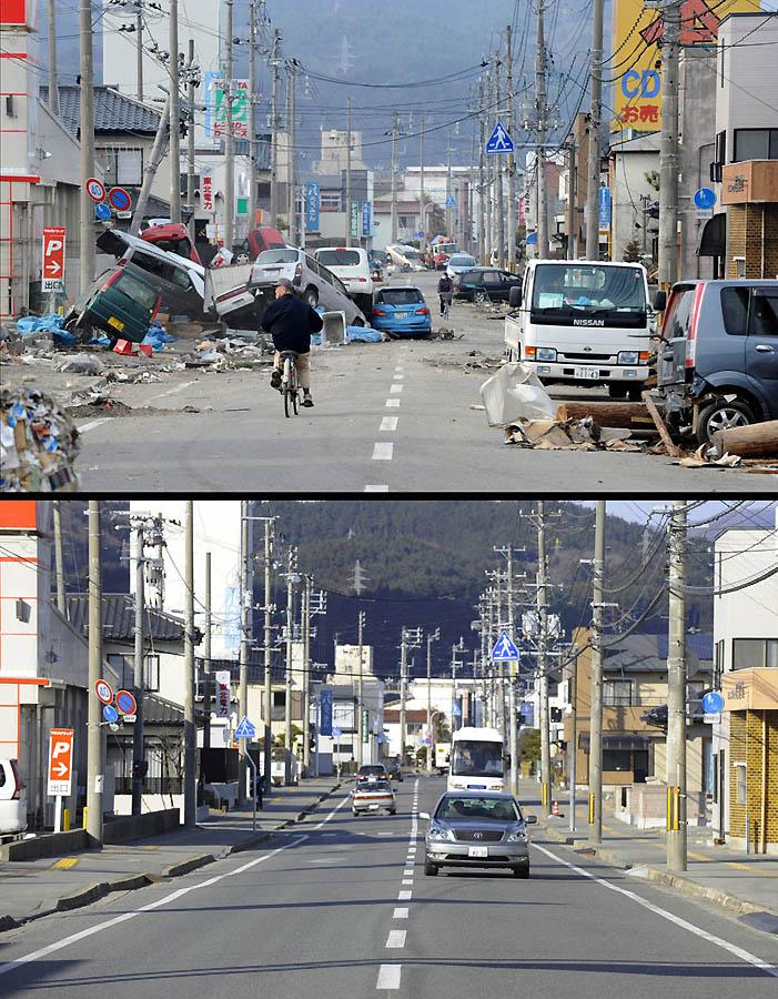 9115 Как Япония восстановилась после землетрясения и цунами