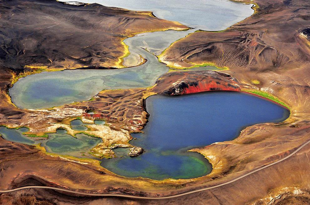9135 Исландия с высоты птичьего полета