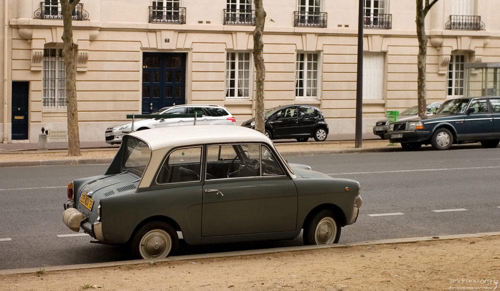 922 Париж: уличная жизнь