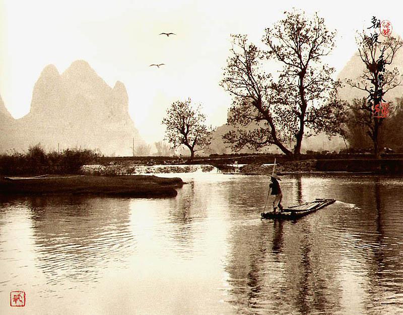 930 Фотографии в стиле традиционной китайской живописи