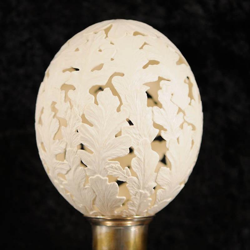 965 Ажурные шедевры: Резная яичная скорлупа от Брайан Бэйти