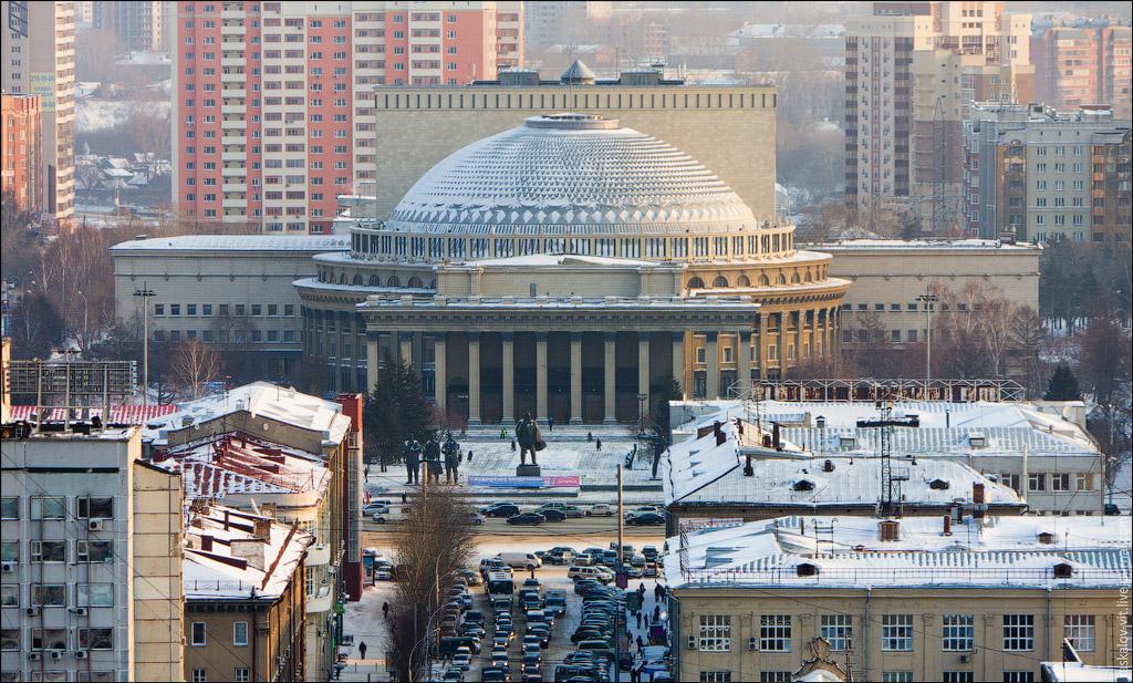 971 Высотный Новосибирск от Виталия Раскалова