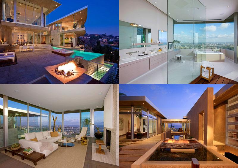 BIGPIC13 Blue Jay Way Residence от McClean Design – красивая жизнь в красивом особняке