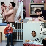 Юные отцы со своими детьми