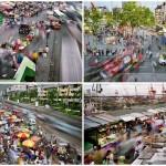 Суматоха больших городов в фотопроекте Metropolis