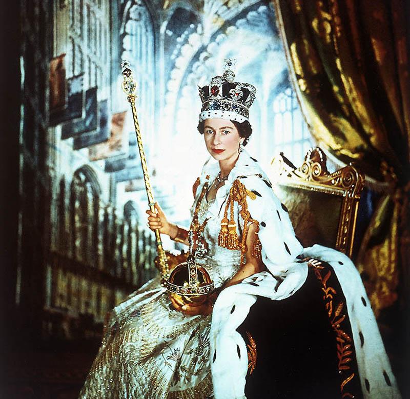 BIGPIC20 Королева Британии Елизавета II: 60 лет на троне