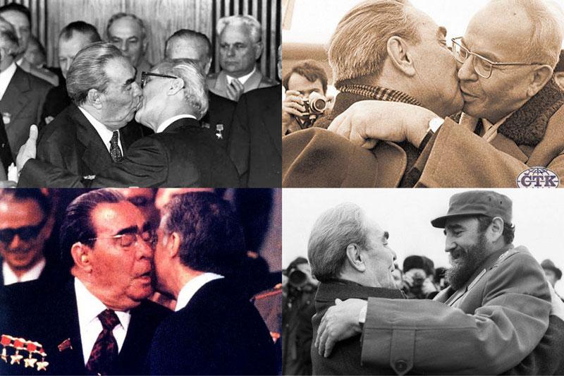 BIGPIC210 10 любопытных фактов про поцелуи Брежнева