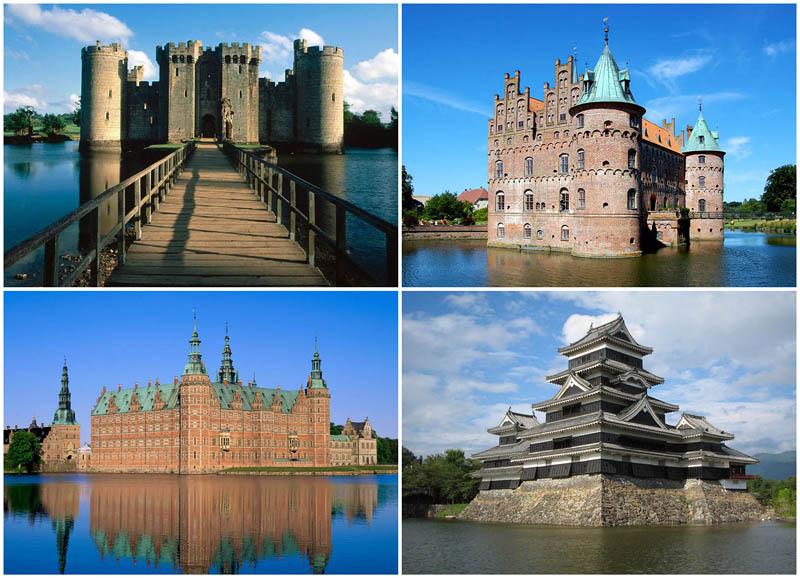 BIGPIC23 Замки на воде или 20 самых красивых замковых рвов в мире