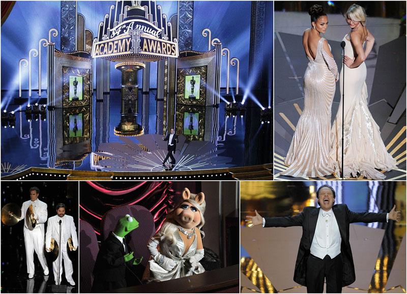 BIGPIC86 Церемония вручения премии американской киноакадемии Оскар 2012