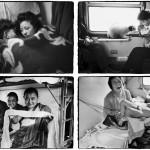 """Ван Фучунь: Фотосерия """"Китайцы в поезде"""""""