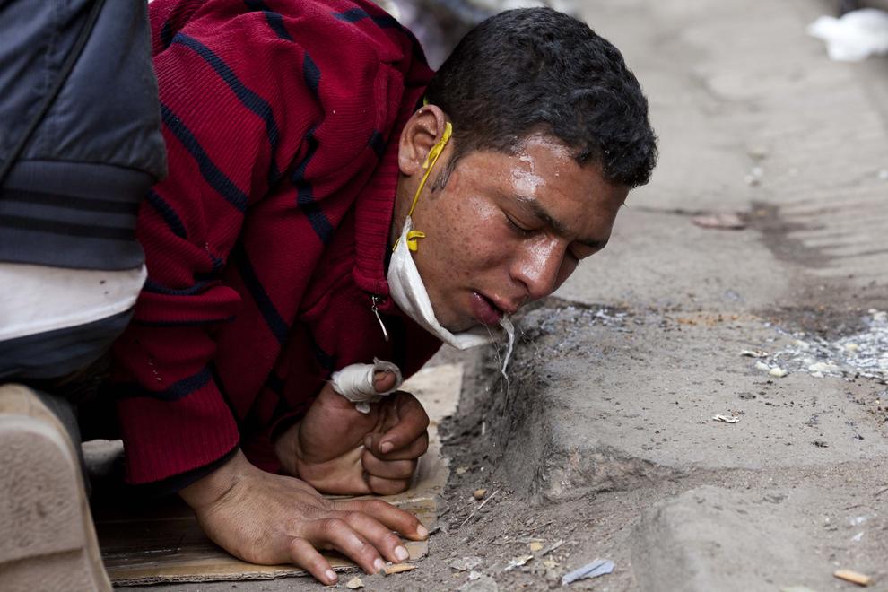 bp102 Египет: акции протеста после инцидента на футболе в Порт Саиде
